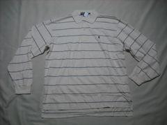 22 男 POLO RALPH LAUREN ラルフローレン 長袖ポロシャツ XL