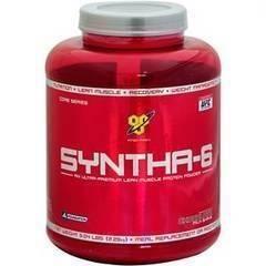 世界チャンピオン愛用!高品質BSNシンサ6プロテイン特大2.3kgチョコレート SYNTHA6