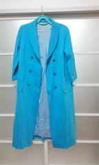 薄青コート
