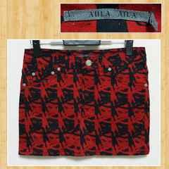購入20000円 AULA AILA アウラアイラ ミニスカート 超美品 1