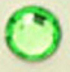 ● 1.5mm ● デコ用ストーン  2000粒 ライトグリーン