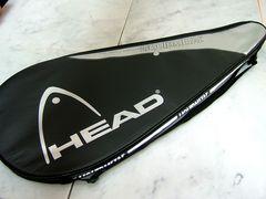 新品ヘッドHEAD テニスラケットケース ラケットバッグバック黒銀