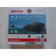 BUFFALO 書き込みソフト添付 ポータブルBD ブラック