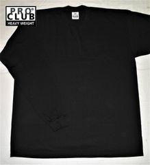 2XL / 黒 BK 長袖 PRO CLUB プロクラブ ヒップホップ チカーノ