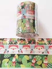 冬限定豪華マスキングテープ3巻セット《2》♪キュートクリスマス