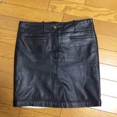 ダブルスタンダードレザースカート 38サイズ