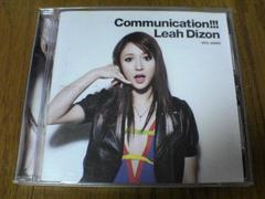 リア・ディゾンCD Communication!!!
