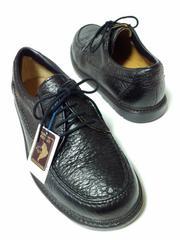 未使用ガンター高級ビジネスシューズ日本製幅広紳士靴お仕事通勤トリッペン