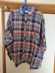 ウィゴー/チェック/ビッグシャツ