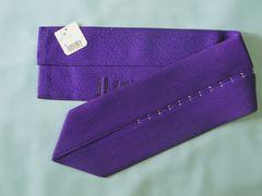 成人式卒業式振袖着物に♪キラキララインストーン付重ね衿★紫