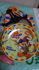 東京ディズニーリゾート15周年記念/TDR/ミッキーマウス/インテリアプレート
