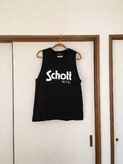 1000〜新品同様☆ungrid今季即完売Schott タンク  ブラック☆
