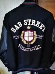 SAB STREET スタジャン 袖革 美品 XL