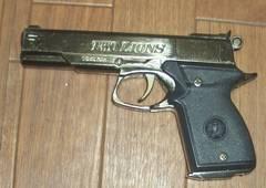 拳銃型ライターTWO LIONS PISTOL DOUBLE FLAME LIGHTER1996