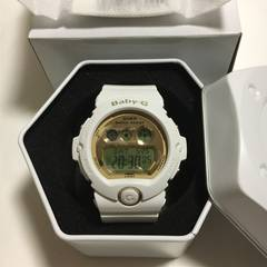 CASIO babyGショック6900 white gold 海外モデル