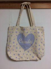 Candy Stripper キャンバストートバッグ