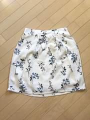 花柄清楚系スカート