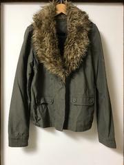 ◆1週間限定価格◆美品☆JEANASISジーナシスファー付ジャケット