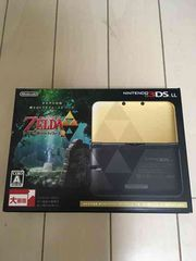 3DS-LL限定版 ゼルダの伝説 神々のトライフォース2パック