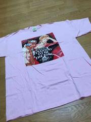 MILKCRATEデザインプリントTシャツサイズXL 王様キングピンク