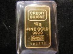 CREDIT SUISSE スイス 金 ゴールドインゴット 10g