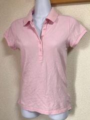 ★UNIQLO ピンク×ポロシャツ  M★