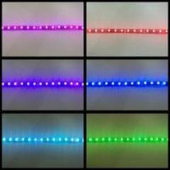 送料無料 USB LEDテープ RGB 防水