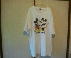 半袖Tシャツミッキー&ミニー5L