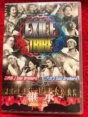 EXILE TRIBE 二代目JSBvs三代目JSB Live Tour 2011 継承 2DVD