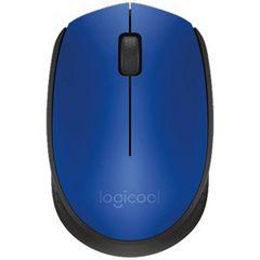 ☆Logicool ワイヤレス光学式マウス M171BL(ブルー ブラック)