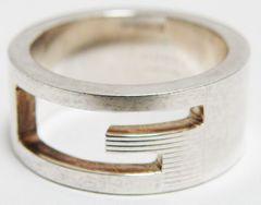 GUCCI グッチ リング 指輪 9号 シルバー925 良品 正規品