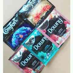 柔軟剤◆Downy・Comfort◆5包◆ダウニー・コンフォート◆旅行など