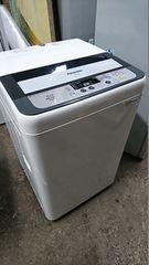 Panasonic 14年式 NA-F50B7 5kg 洗い簡易乾燥機能付き洗濯機