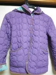 ジャケット*紫*ニットプランナー*KP/140cm難あり