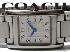 極レア 1スタ★COACH コーチ【スイスメイド】フルメタル 腕時計