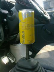 空き缶シフトノブRed BullM12×P1.25人気レッドブル