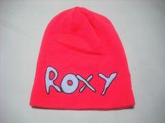 wb742 ROXY ロキシー ニット帽 ビーニー ピンク
