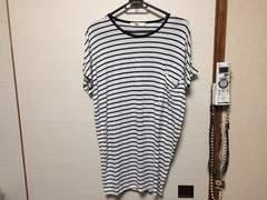 フロムファーストミュゼ☆ロング丈ボーダーTシャツ