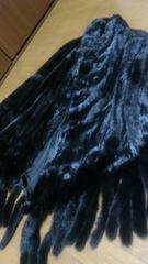 最高級SAGAロイヤル逆毛極上ポンチョショールコート95万円超美品
