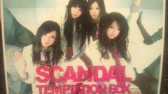 激安!超レア!☆SCANDAL/TEMPTATION BOX☆初回限定盤CD+DVD超美品