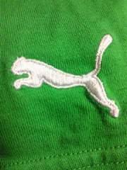 PUMA プーマ サッカー ゲーム ウオッチ デザイン Tシャツ グリーン Mサイズ