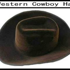 ウェスターン カウボイ ハット COWBOY新品  cowboy ハットLAMA 茶色