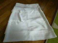 リナシメント レディース スカート 白 イタリア製 膝上 XS 服