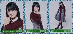 欅坂46「不協和音」握手会会場限定販売生写真 織田奈那コンプ