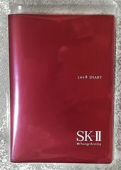 SK-II★2018年 オリジナル手帳★スケジュール帳ダイアリー
