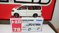 ★赤箱トミカ78★トヨタ アルファード★TOMY★