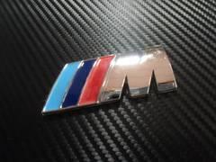 ● Mテク R用 ラウンドエンブレムM ABS製 社外B級品 特価処分 ●