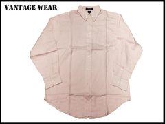 新 【ピンク色-XL】Vantage長袖シャツアメリカ輸入品