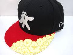 ◆激レアミッキーマウス ニューエラ  ポップコーン黒 ダッフィー ハロウィン