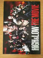 High&LOW THE MOVIE◆映画パンフレット新品